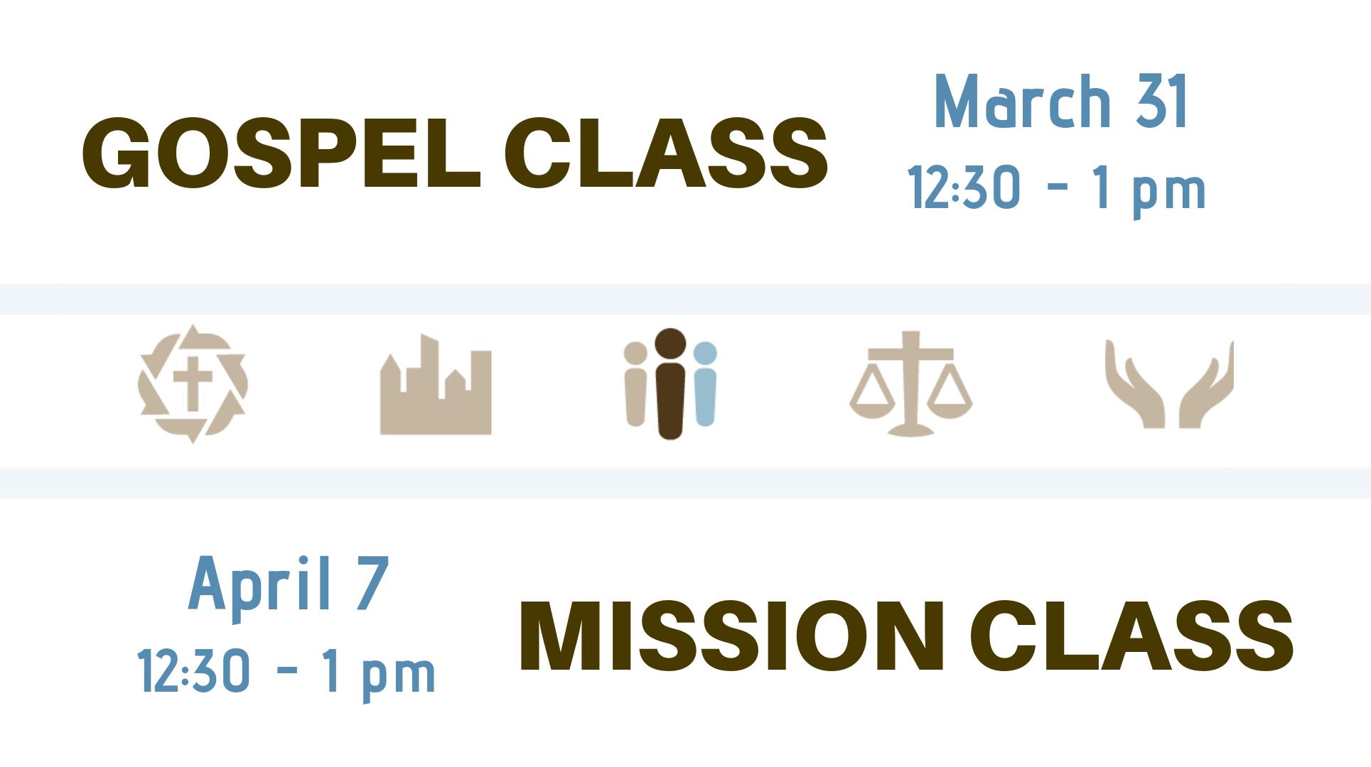 gospel:mission class image