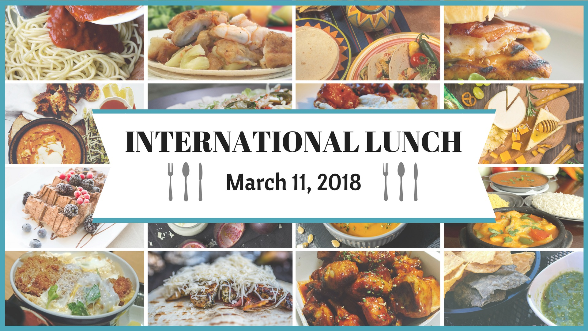 International Lunch 1920 x 1080 image