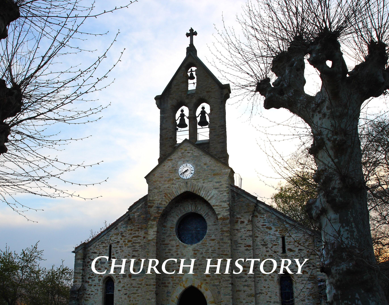 Church History Class banner