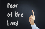 The First Principle (Fear of the Lord) banner