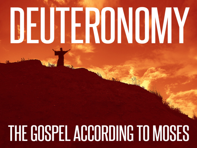 Deuteronomy: The Gospel According to Moses banner