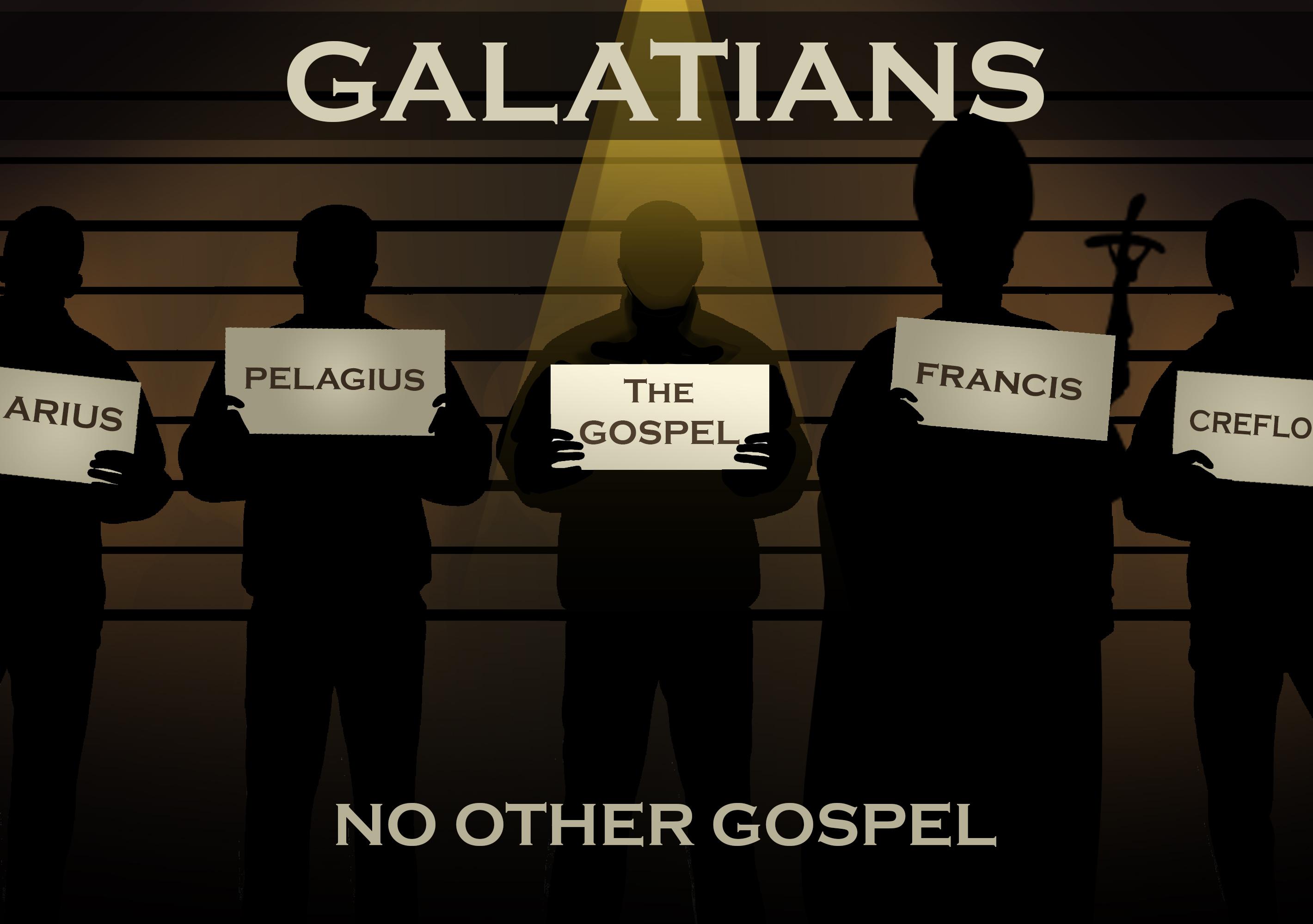 Galatians: No Other Gospel banner