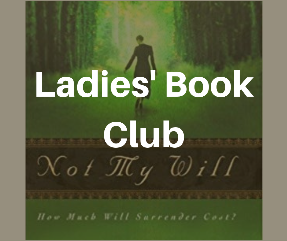 Not My Will Bookclub image