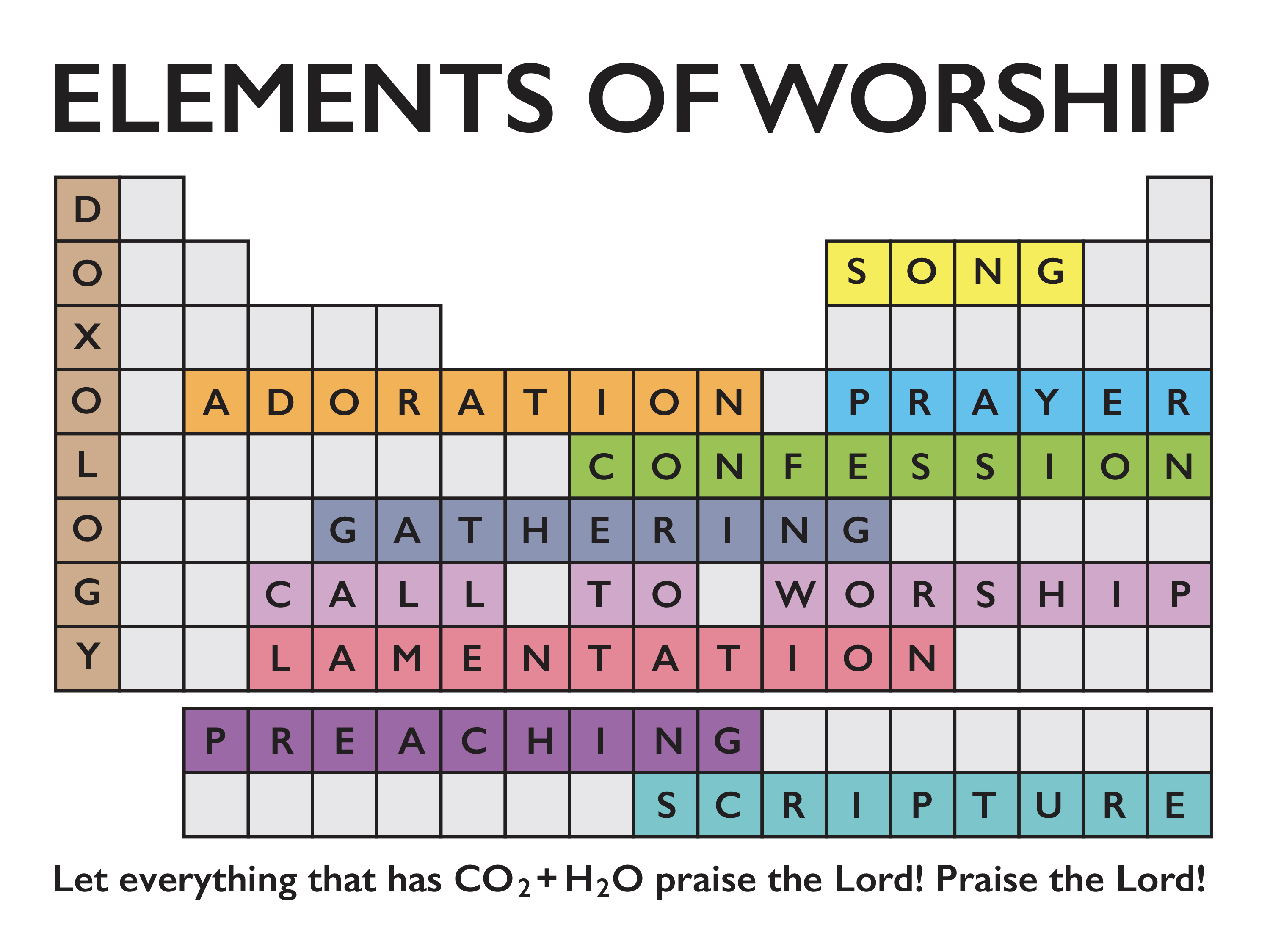 Elements of Worship banner