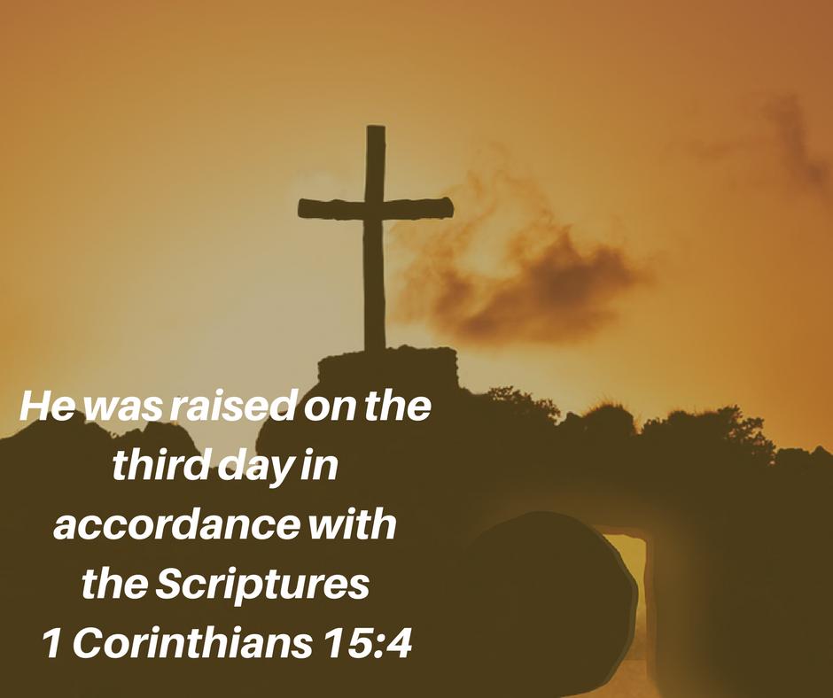 Occoquan Bible Church Woodbridge Va On The Third Day What Jesus