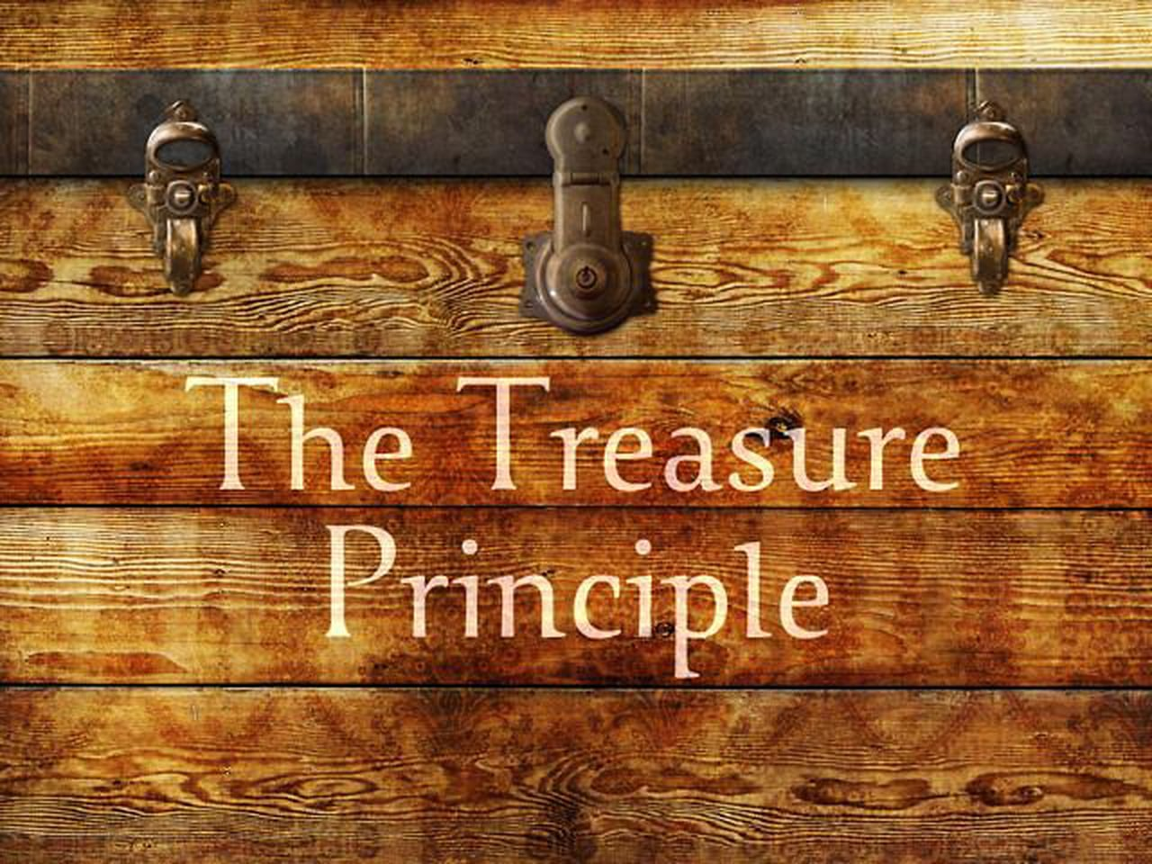 The Treasure Principle banner