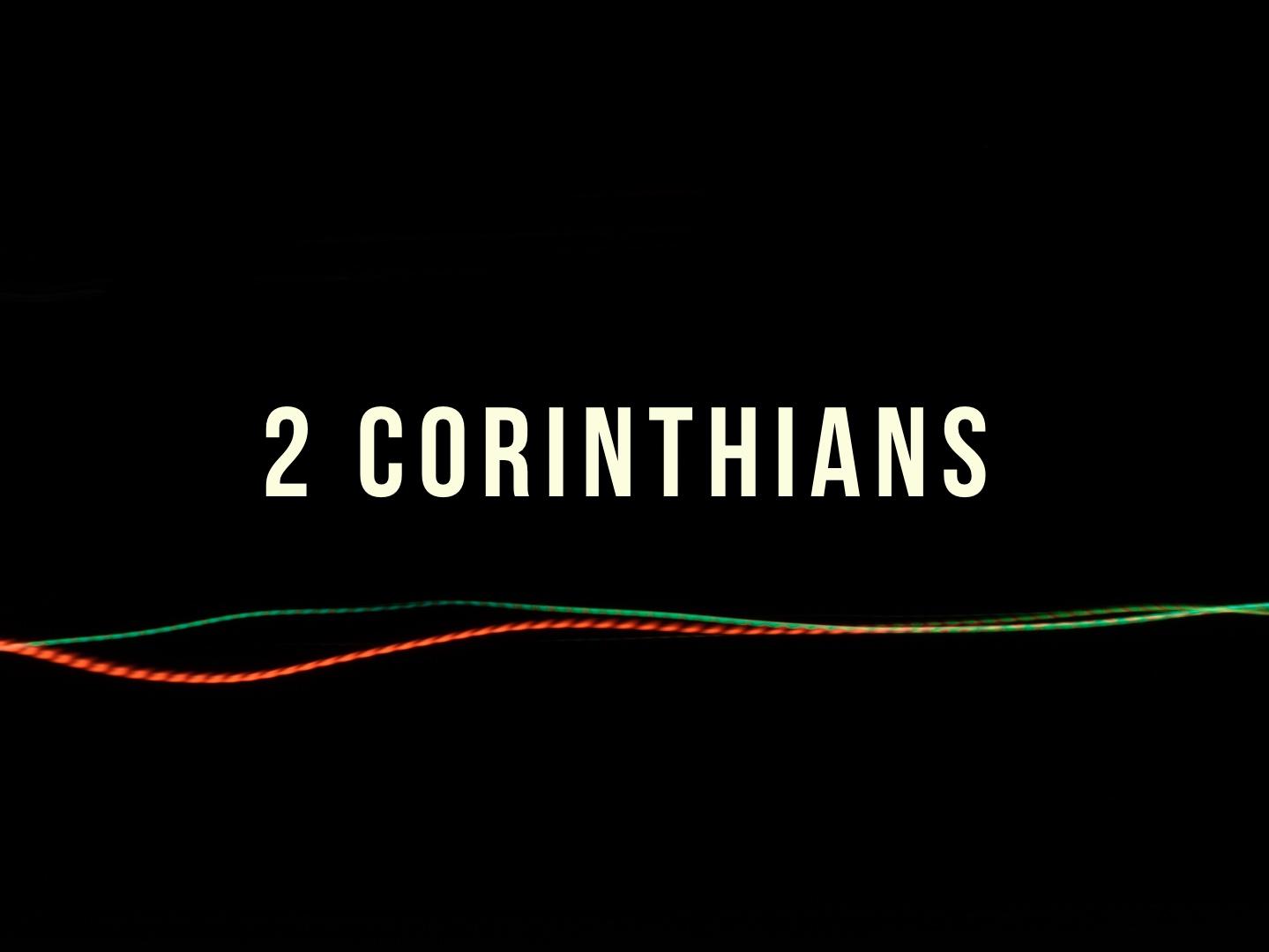 2 Corinthians banner