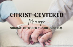 Christ Centered Marriage with date
