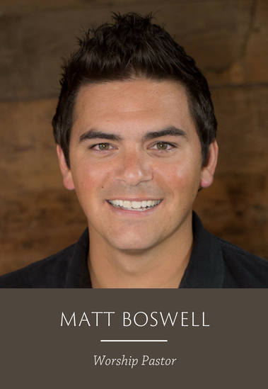 Matt Boswell 2018