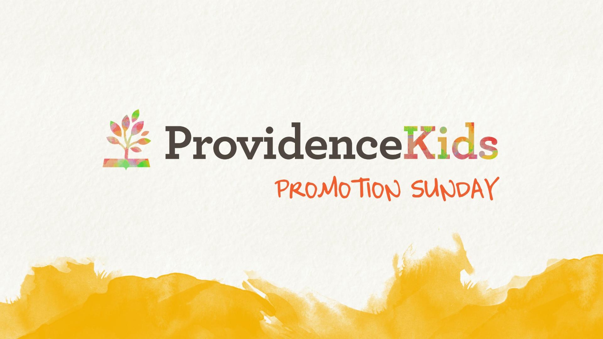 Promotion Sunday image