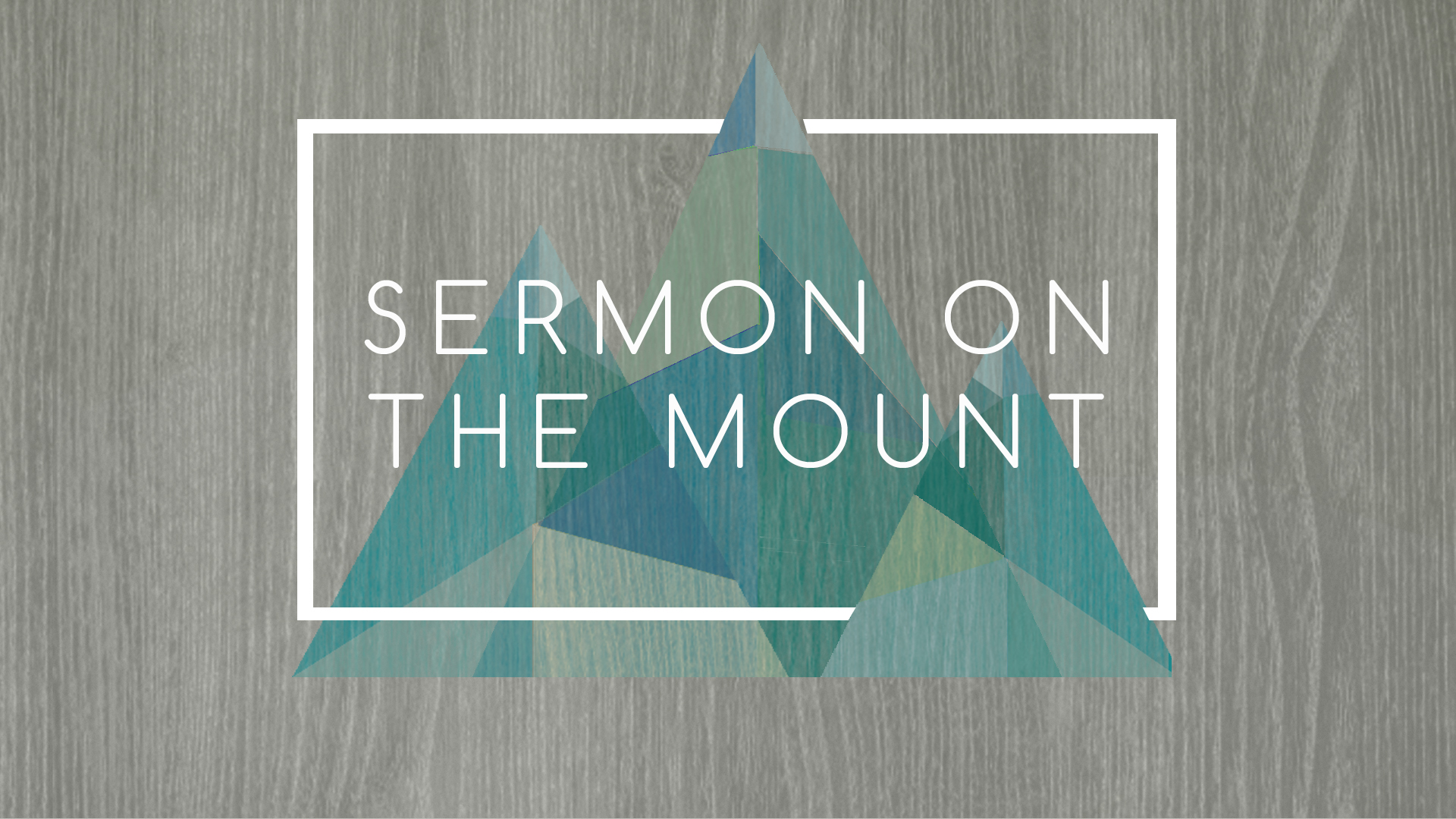 Sermon on the Mount darker bkg