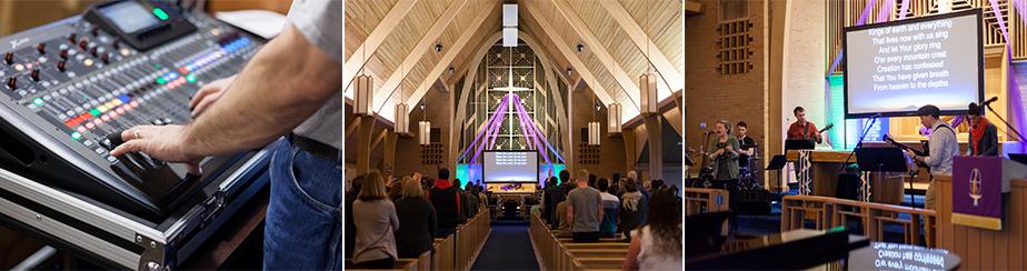 Worship Gathering banner
