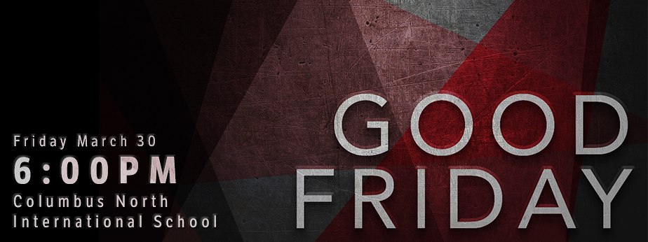 Good Friday Gathering banner