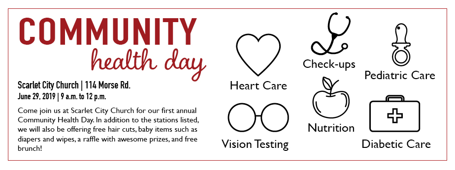 Community Health Day banner
