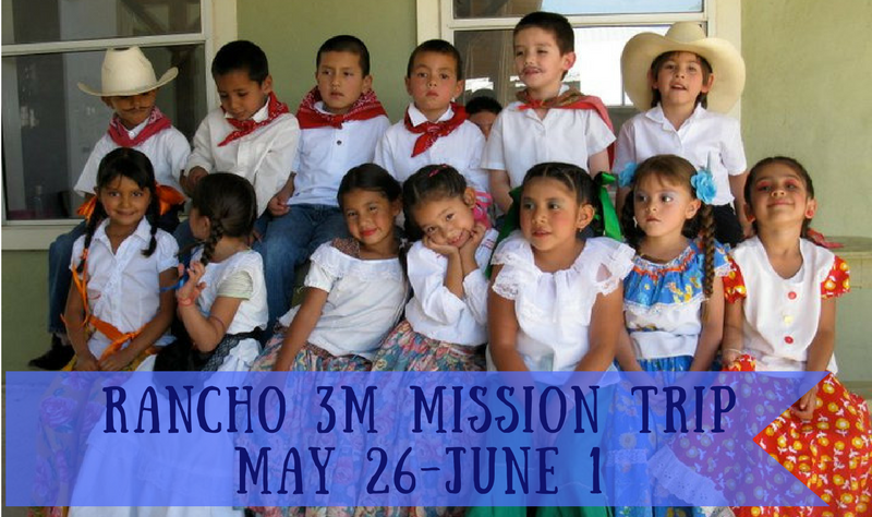 Rancho 3M Mission Trip banner image