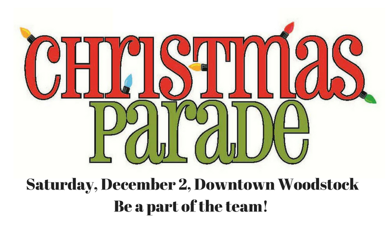 Woodstock Christmas Parade 2017 banner image