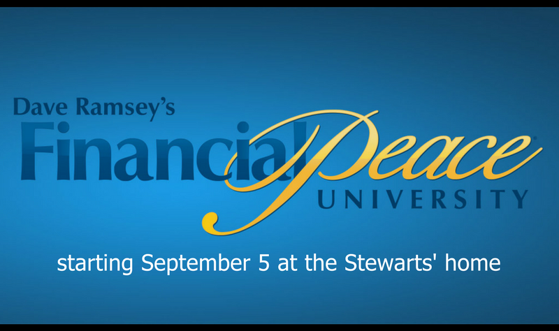 Financial Peace University banner image