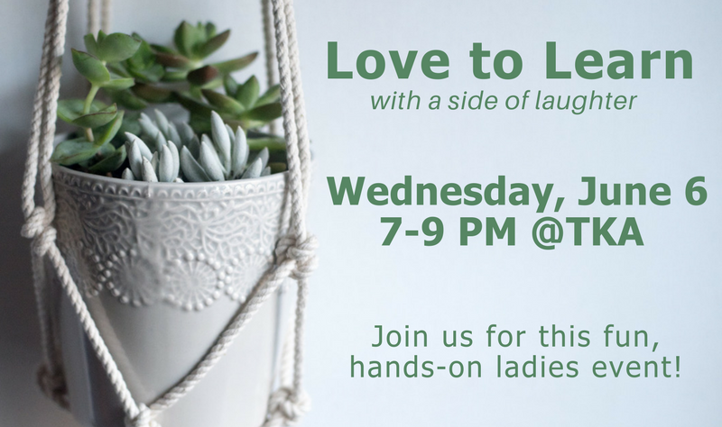 Love to Learn (with a Side of Laughter) banner image