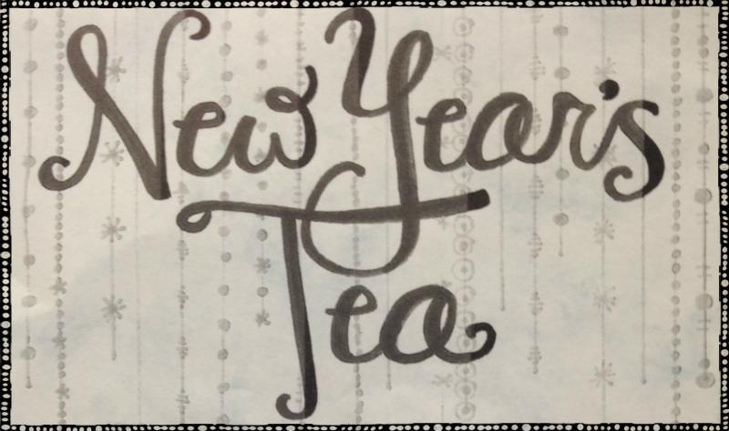 new years tea