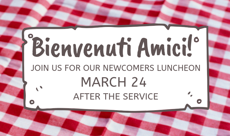 Newcomers Lunch banner image