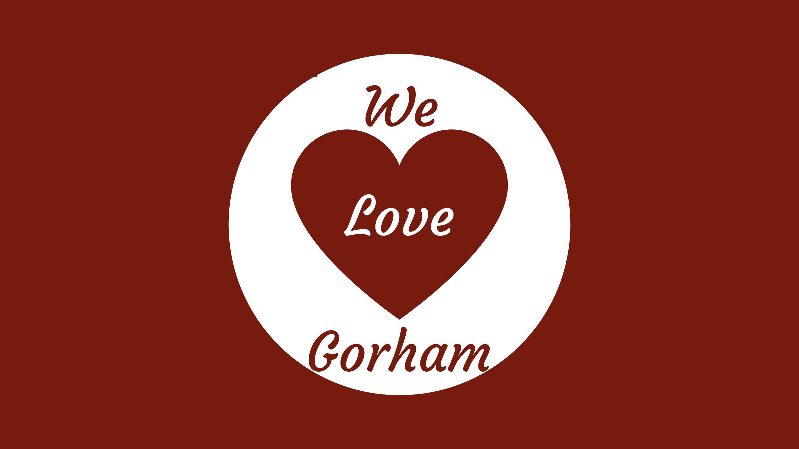 We Love Gorham Logo