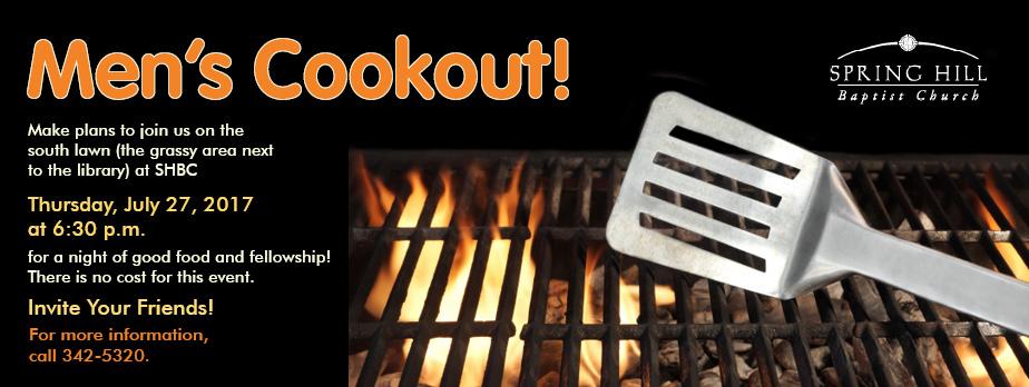 Men's Cookout 2017 rotator