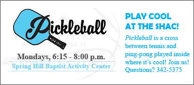 Pickleball Stay Cool