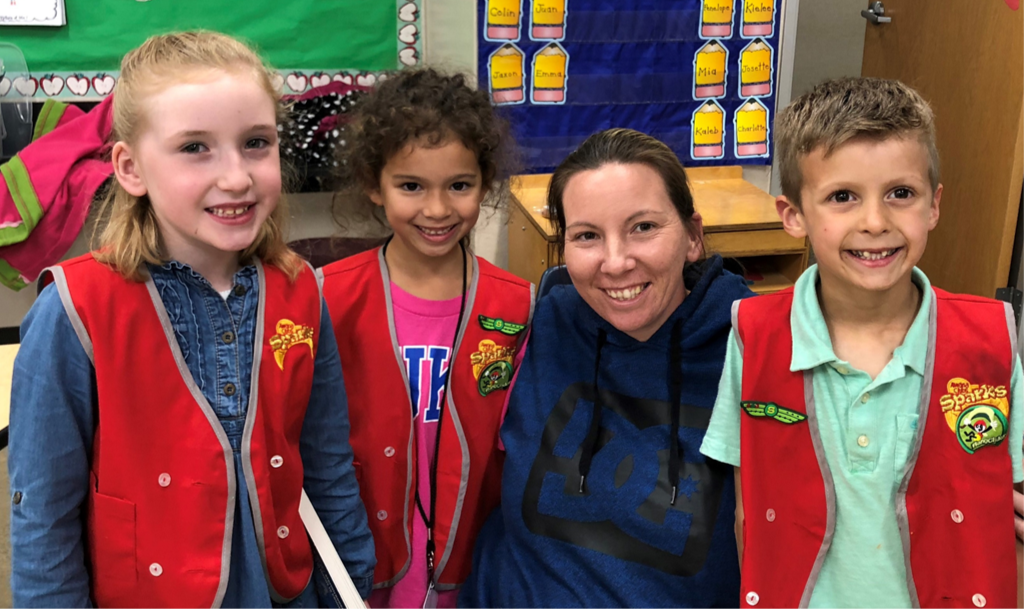 AWANA volunteer