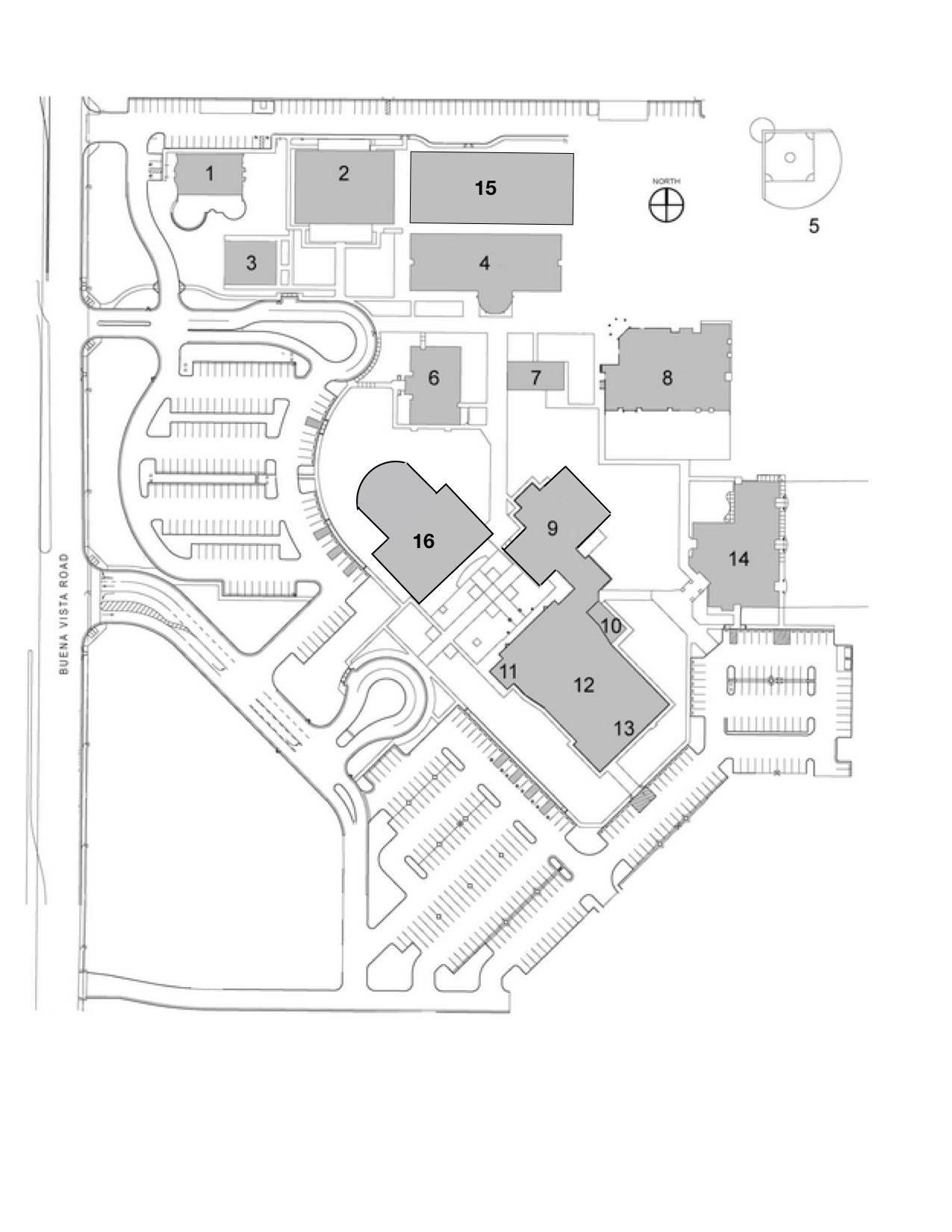 Full Campus Map