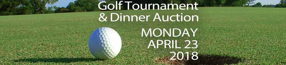 24th Annual Golf Tournament & Dinner Auction  banner