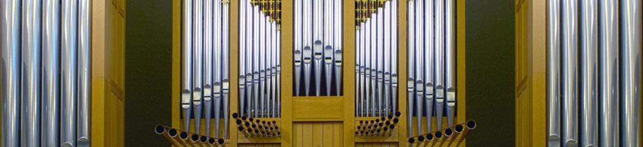 St. John's Bosch Organ banner