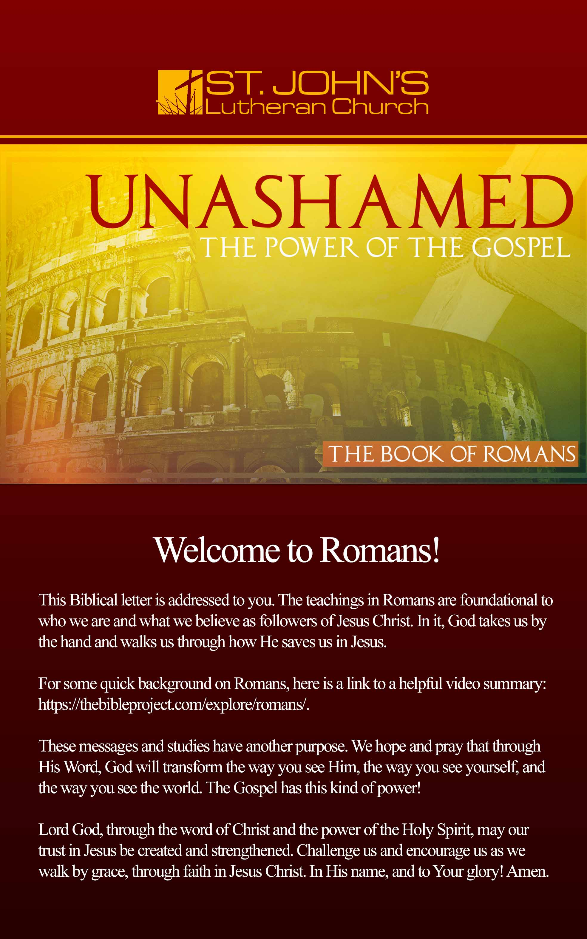 Romans Booklet Cover w text