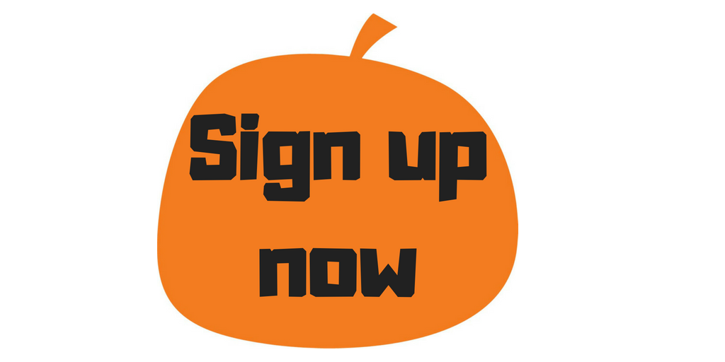 Sign up now Pumpkinfest2018