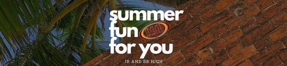 SSM Summer banner