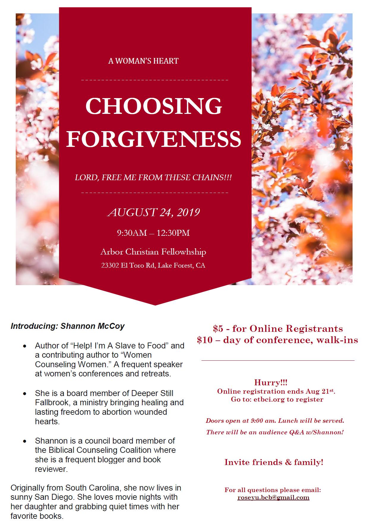 ChoosingForgiveness
