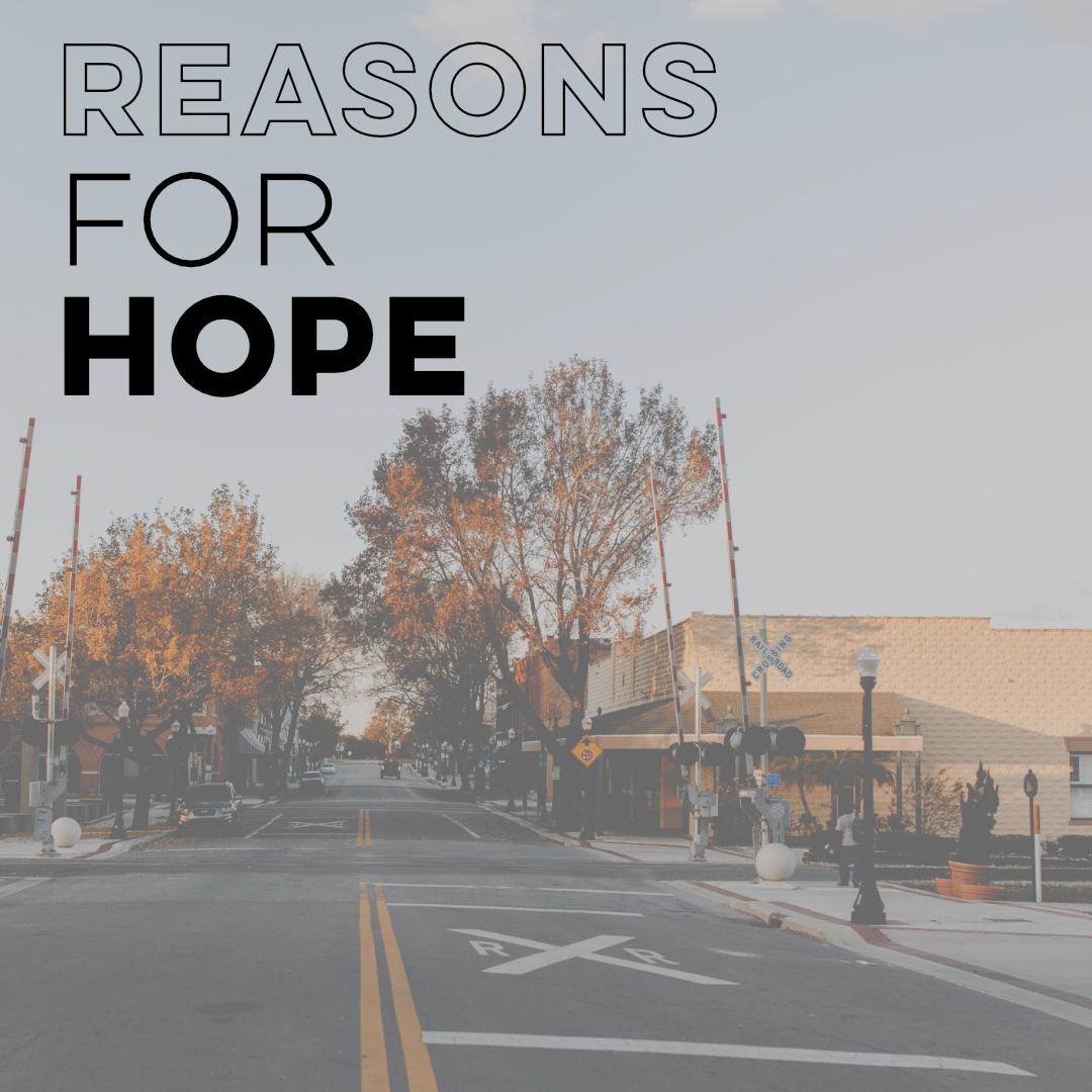 Social Media - Reasons for Hope