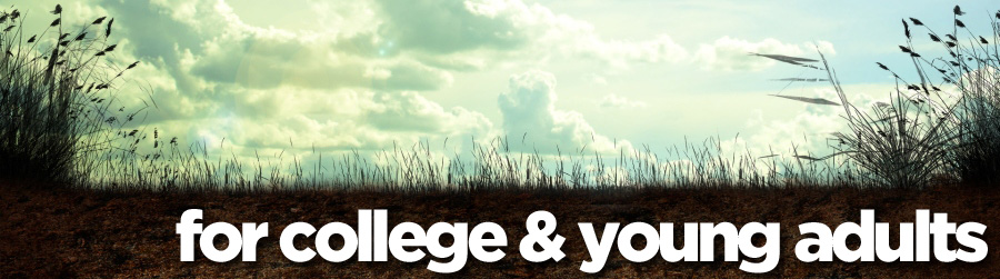 for college & young adults banner