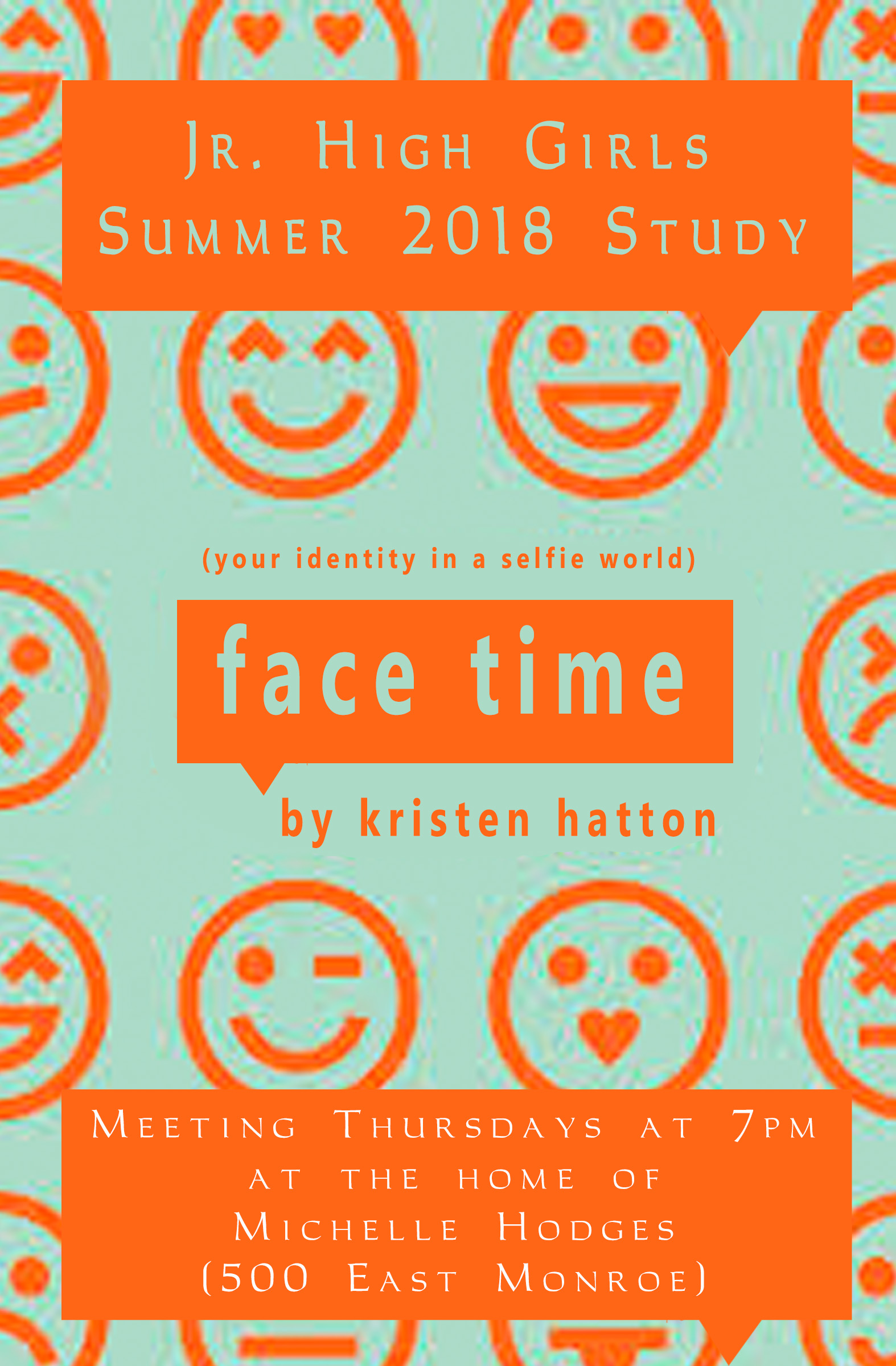 Face Time Poster