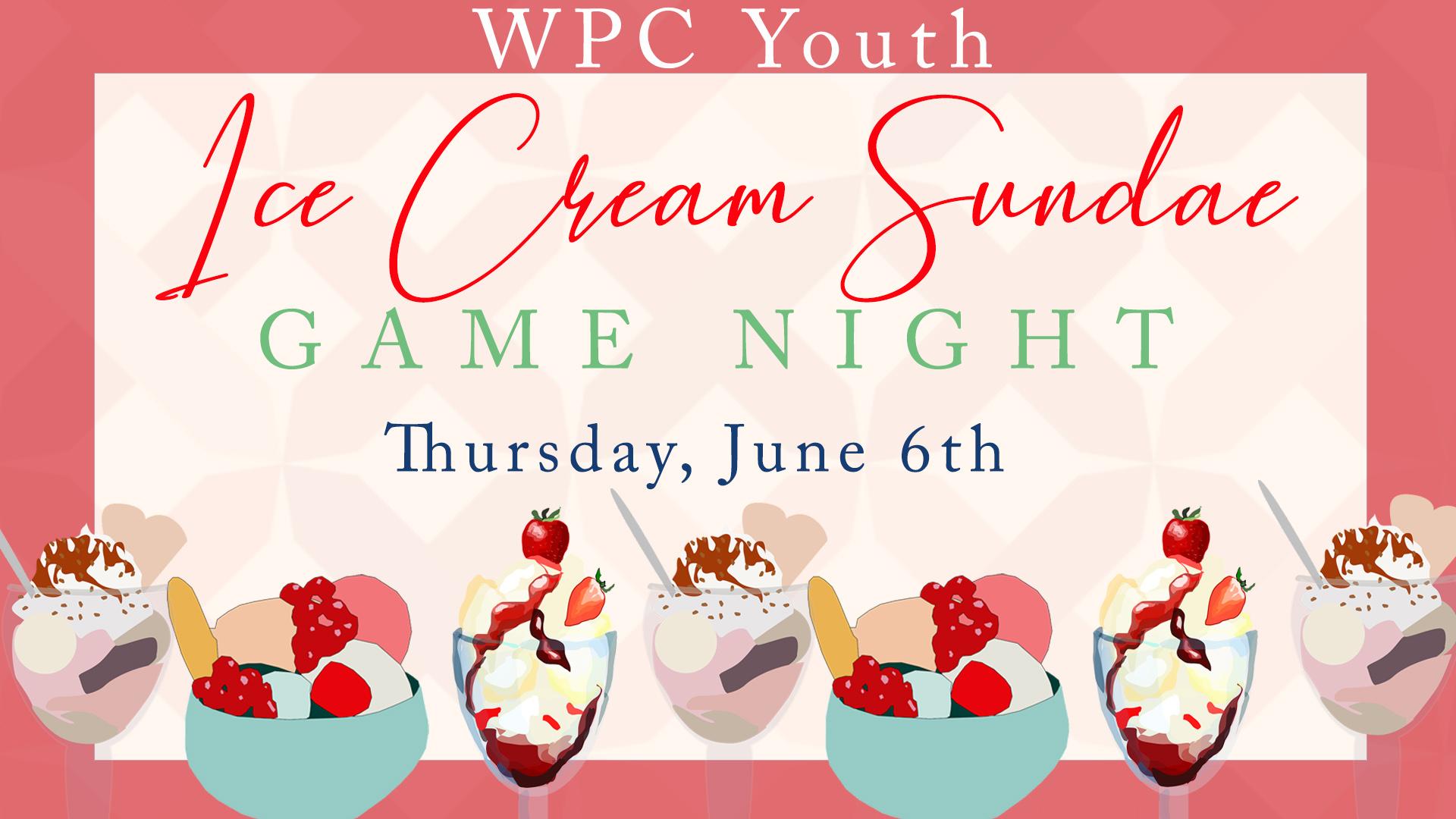 Ice Cream Game Night