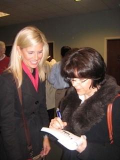 Kim Pillow Nancy Guthrie signing