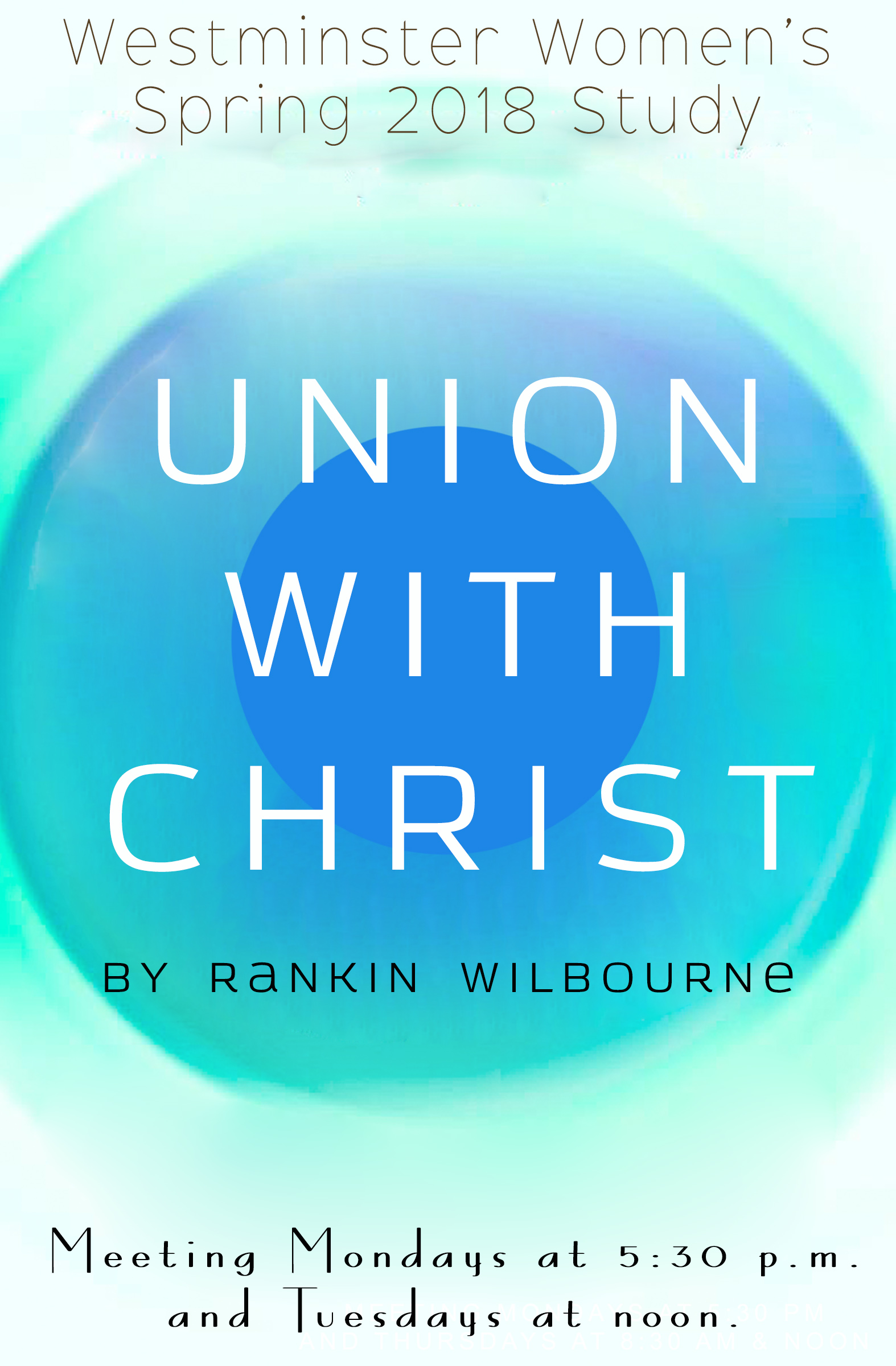 Union with Christ Poster Update