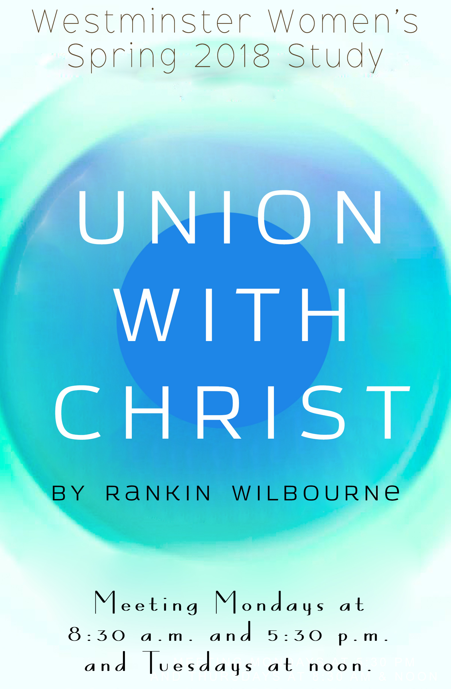 Union with Christ Poster