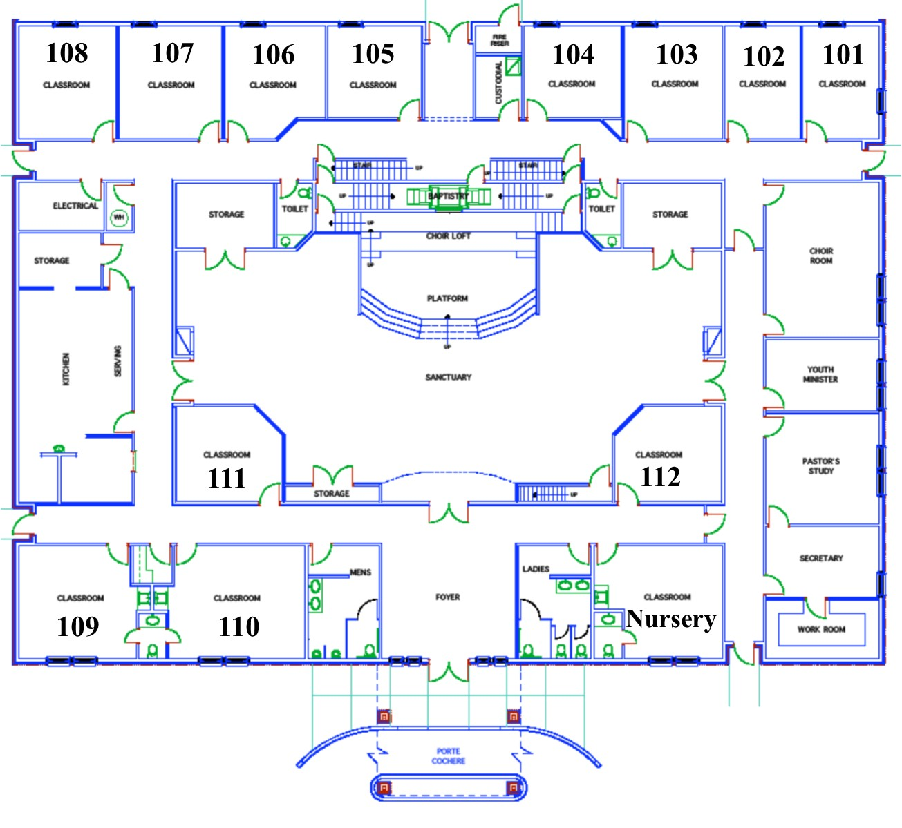 Central Baptist Church Brookhaven Ms Campus Map