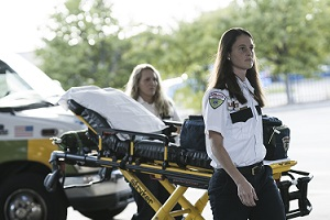 Purpose-built mobile device for fire and EMS