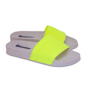 Chinelo Slide Unissex Amarelo Cia do Sono 1