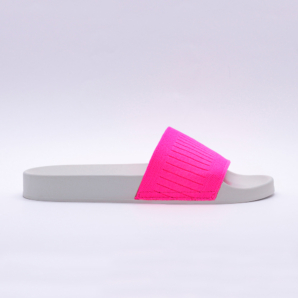 Chinelo Slide Rosa Neon Cia do Sono (1)