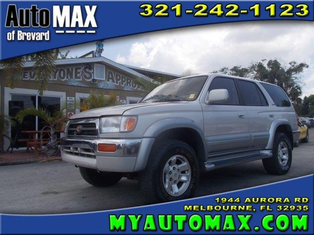 1996 toyota 4runner for sale in melbourne fl. Black Bedroom Furniture Sets. Home Design Ideas