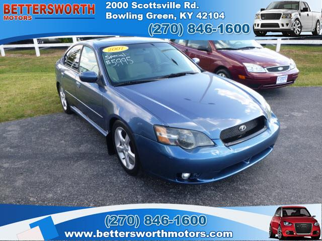 2007 subaru legacy for sale for Bettersworth motors bowling green ky