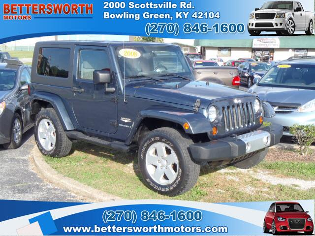 2008 jeep wrangler for sale for Bettersworth motors bowling green ky