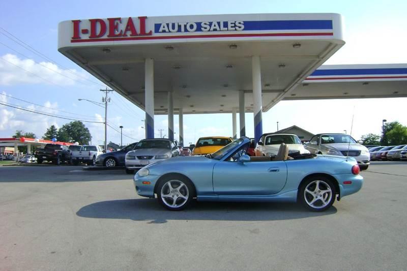 2002 mazda mx 5 miata for sale in maryville tn for Ideal motors maryville tn